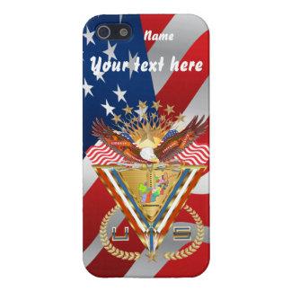 愛国心が強いまたは退役軍人の意見の芸術家は次コメントします iPhone 5 CASE