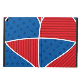 愛国心が強いアメリカのハート iPad AIRケース