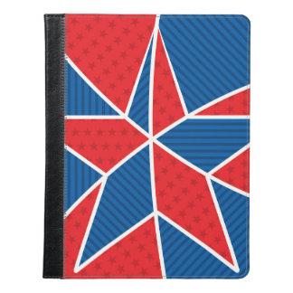 愛国心が強いアメリカの星 iPadケース