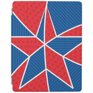 愛国心が強いアメリカの星 iPadスマートカバー
