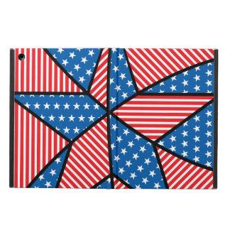 愛国心が強いアメリカの星 iPad AIRケース