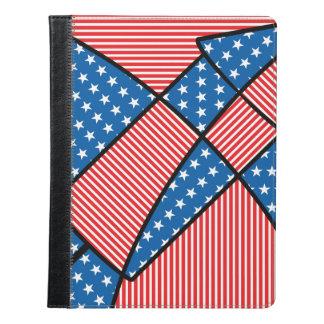 愛国心が強いアメリカの花火 iPadケース