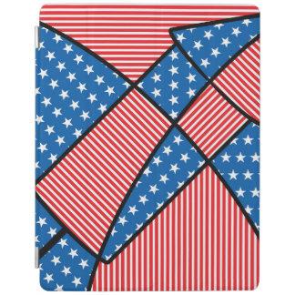 愛国心が強いアメリカの花火 iPadスマートカバー