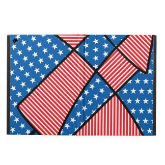 愛国心が強いアメリカの花火 iPad AIRケース