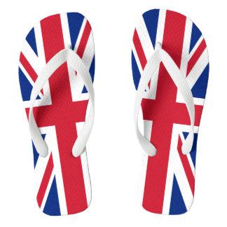 愛国心が強いイギリスの英国国旗 ビーチサンダル