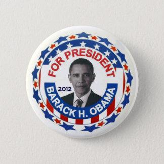 愛国心が強いオバマ2012年 5.7CM 丸型バッジ
