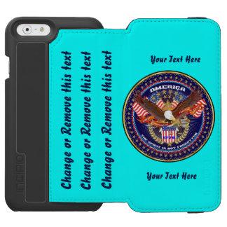 愛国心が強いカスタマイズために指示します行って下さい INCIPIO WATSON™ iPhone 6 財布ケース