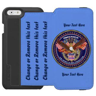 愛国心が強いカスタマイズために指示します行って下さい iPhone 6/6Sウォレットケース