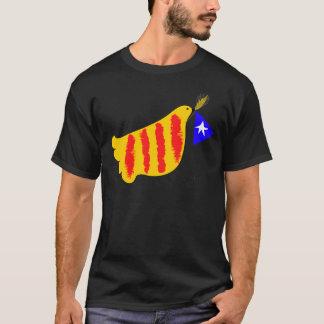 愛国心が強いカタロニアのCatalunyaのllibertat Tシャツ