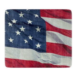 愛国心が強いガラスまな板 カッティングボード