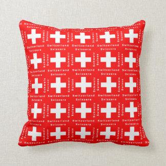 愛国心が強いスイス連邦共和国のスイス人の旗 クッション