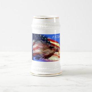 愛国心が強いステイン ビールジョッキ
