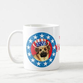 愛国心が強いチヌック コーヒーマグカップ