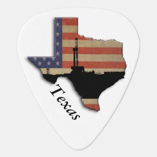愛国心が強いテキサス州の石油開発の装備 ギターピック