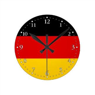 愛国心が強いドイツの旗 ラウンド壁時計