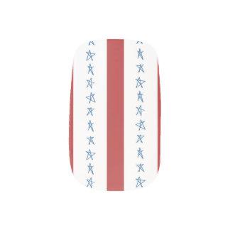 愛国心が強いネイルのデザイン ネイルアート