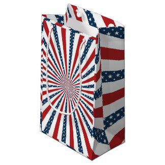 愛国心が強いパターン スモールペーパーバッグ