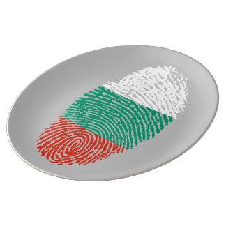 愛国心が強いブルガリアDNA愛 磁器プレート