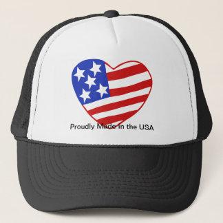 愛国心が強いプライド! 米国で得意気に作られて!!! キャップ