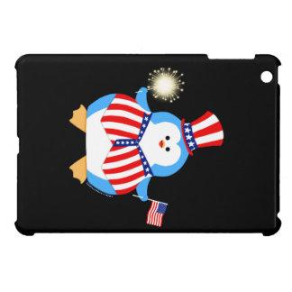 愛国心が強いペンギン iPad MINI CASE