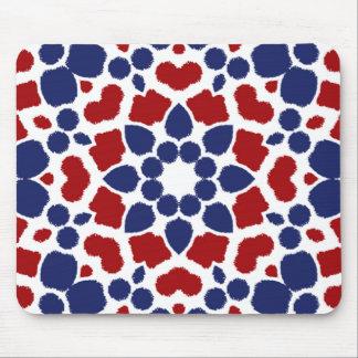 愛国心が強いマウスパッドの赤い白くおよび青 マウスパッド