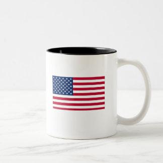 愛国心が強いマグ ツートーンマグカップ