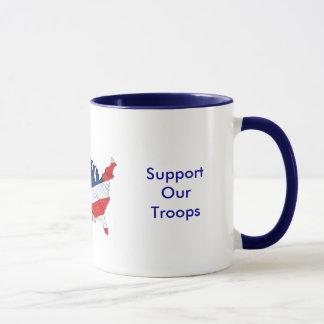 愛国心が強いマグ マグカップ