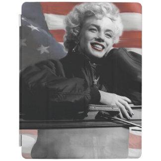 愛国心が強いマリリン iPadスマートカバー