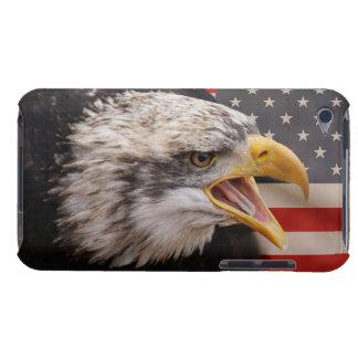 愛国心が強いワシのイメージのiTouchの場合 Case-Mate iPod Touch ケース