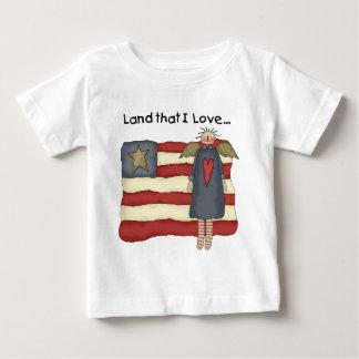 愛国心が強い原住民 ベビーTシャツ