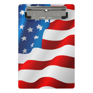 愛国心が強い小型クリップボード ミニクリップボード