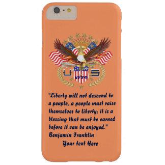 愛国心が強い平和モモ BARELY THERE iPhone 6 PLUS ケース
