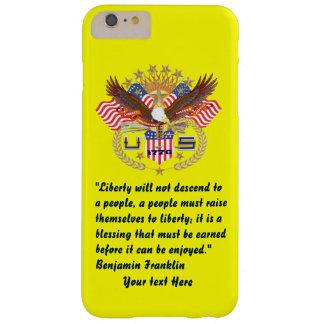 愛国心が強い平和森林プラム黄色 BARELY THERE iPhone 6 PLUS ケース