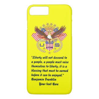 愛国心が強い平和森林プラム黄色 iPhone 8 PLUS/7 PLUSケース