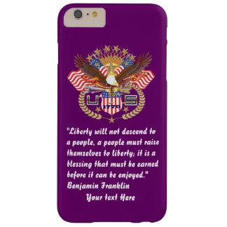 愛国心が強い平和森林プラム BARELY THERE iPhone 6 PLUS ケース