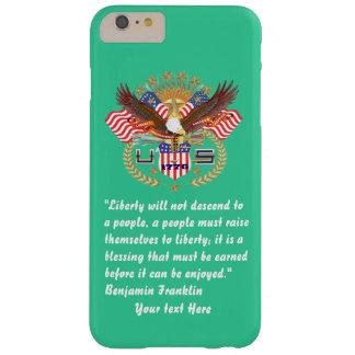 愛国心が強い平和深緑色の海 BARELY THERE iPhone 6 PLUS ケース