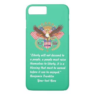 愛国心が強い平和深緑色の海 iPhone 8 PLUS/7 PLUSケース