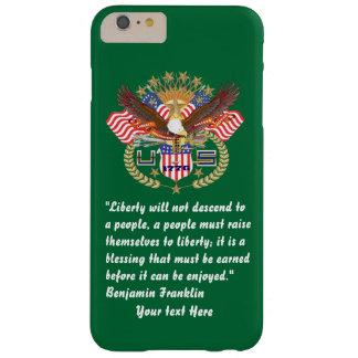 愛国心が強い平和深緑色のiphone 6/6S Barely There iPhone 6 Plus ケース