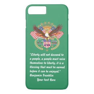 愛国心が強い平和深緑色ケンタッキー iPhone 8 PLUS/7 PLUSケース