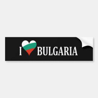 愛国心が強い愛ブルガリア バンパーステッカー