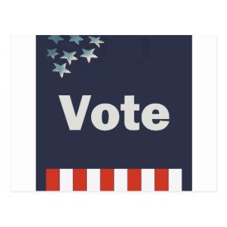 愛国心が強い投票 ポストカード