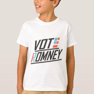 愛国心が強い投票Romney Tシャツ