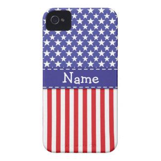 愛国心が強い携帯電話の箱 Case-Mate iPhone 4 ケース