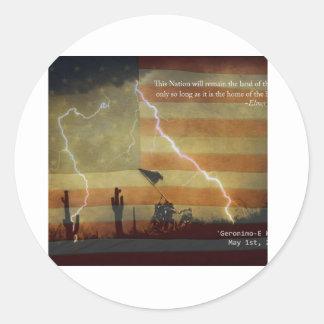 愛国心が強い操作Geronimo-E KIA ラウンドシール