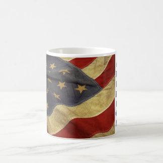 愛国心が強い旗- コーヒーマグカップ