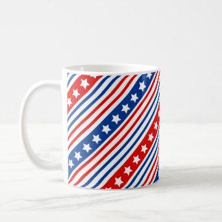愛国心が強い星条旗 コーヒーマグカップ