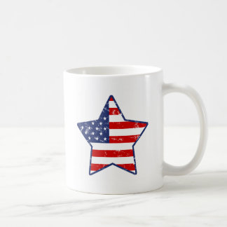 愛国心が強い星 コーヒーマグカップ