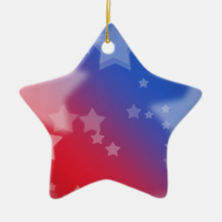 愛国心が強い星 セラミックオーナメント