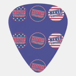 """""""愛国心が強い決して""""米国旗のギターを切札で取らないで下さい ギターピック"""