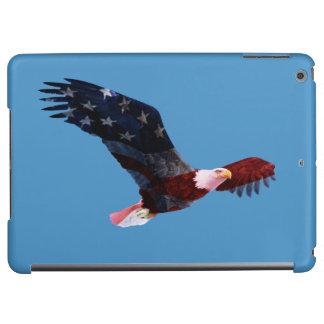 愛国心が強い白頭鷲の旗